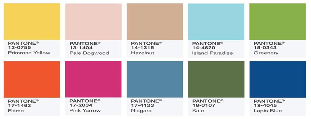 Pada Tahun 2017 Pantone Memberikan Warna Yang Bermula Dari Tajam Dan Terang Hingga Menuju Earthy Feelings
