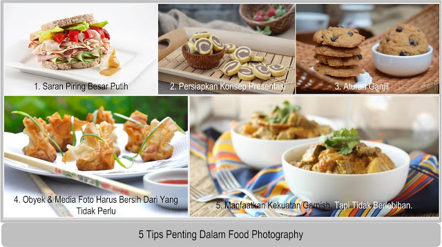 5 Tips Penting Dalam Food Photography